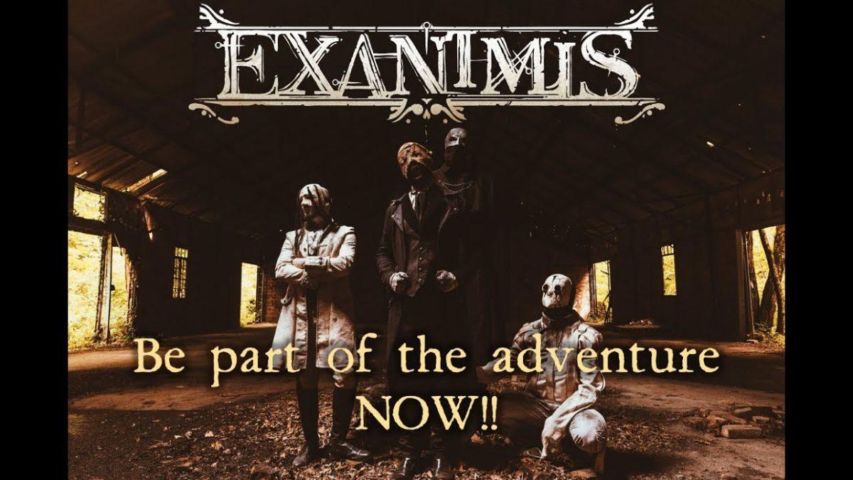 Un nouveau groupe de Metal arrive sur la scène française, Exanimis !