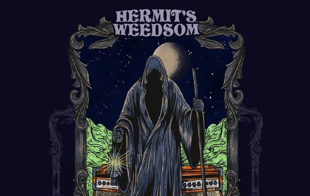 Le groupe de Stoner/Doom Metal français Hermit's Weedsom sort son premier album