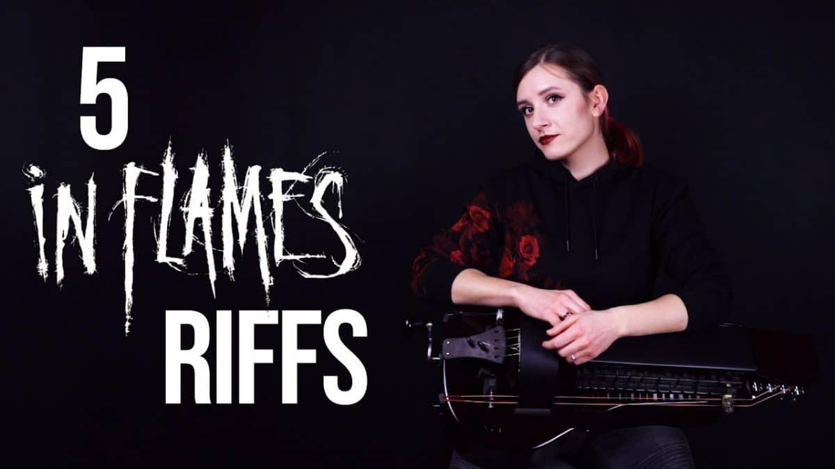 Regardez la joueuse de vielle à roue de Eluveitie interpréter 5 riffs iconiques de In Flames