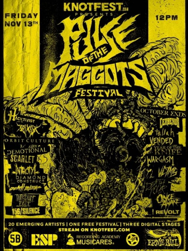 Slipknot annonce le Pulse Of The Maggots Fest sur Knotfest.com, un festival mettant en vedette de nouveaux artistes prometteurs