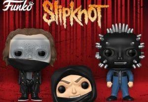 Slipknot : De nouvelles figurines Pop! Rocks sont disponibles en pré-commande