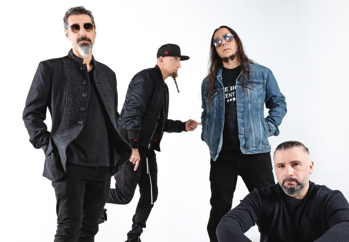 System of a Down sort sa première nouvelle musique en 15 ans