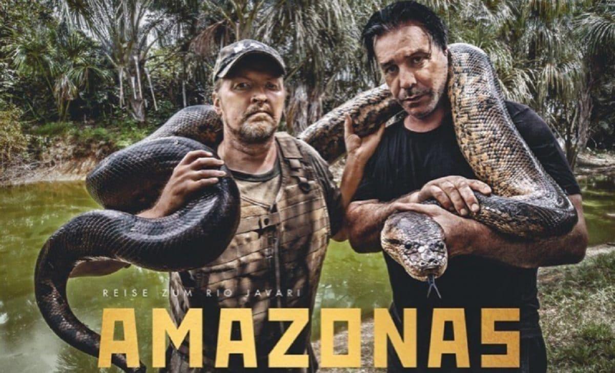 Till Lindemann, le frontman de Rammstein, sort un nouveau livre, Amazonas : Reise Zum Rio Javari