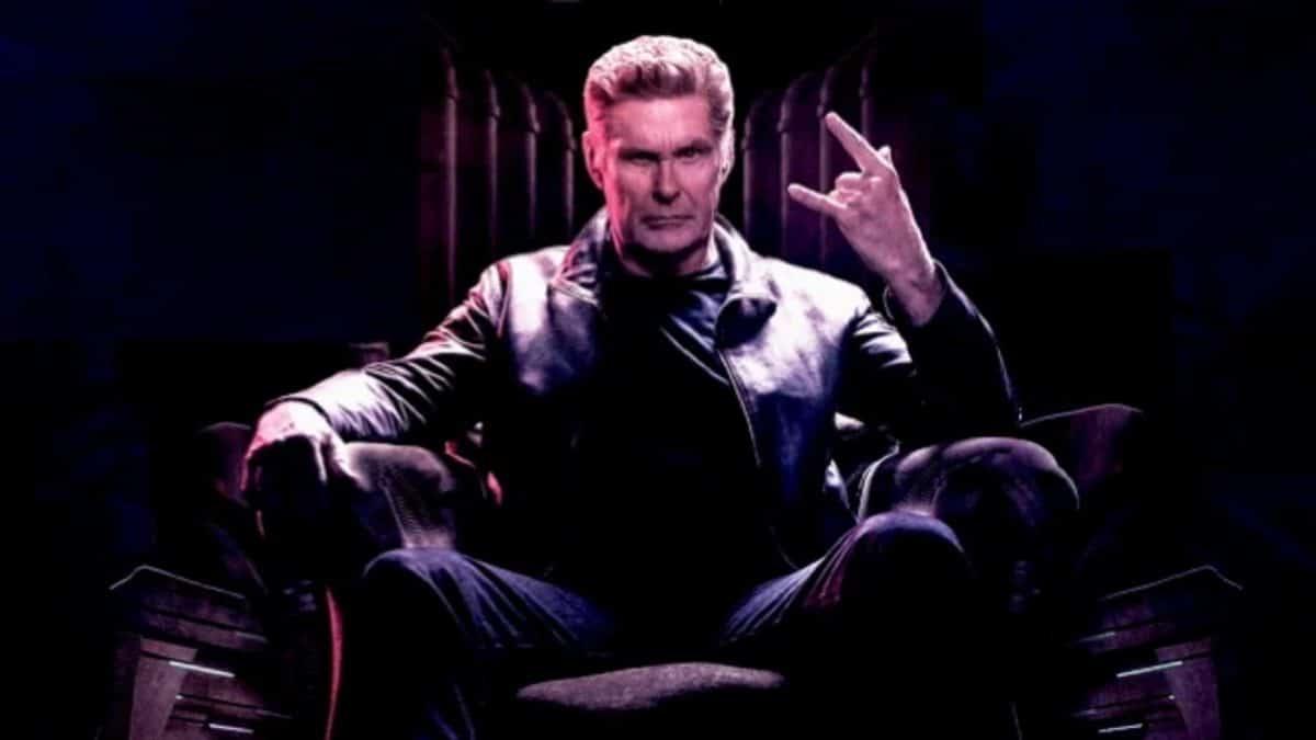 """David Hasselhoff : """"Je suis un grand fan de Metallica et de Iron Maiden"""""""