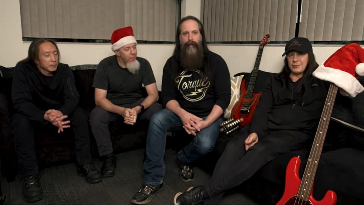 Dream Theater sort une chanson de Noël pour soutenir les membres de son équipe