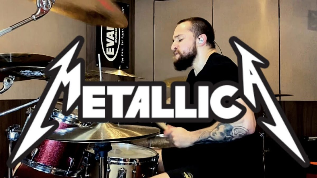 Regardez Eloy Casagrande de Sepultura jouer Battery de Metallica !