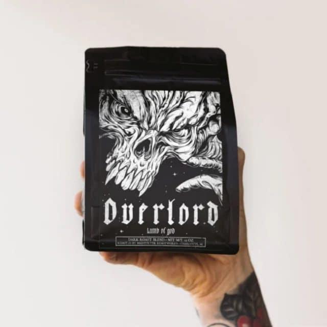 Lamb Of God annonce son deuxième mélange de café, Overlord