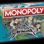 """Le Monopoly de Metallica revient avec une édition """"tournée mondiale"""""""
