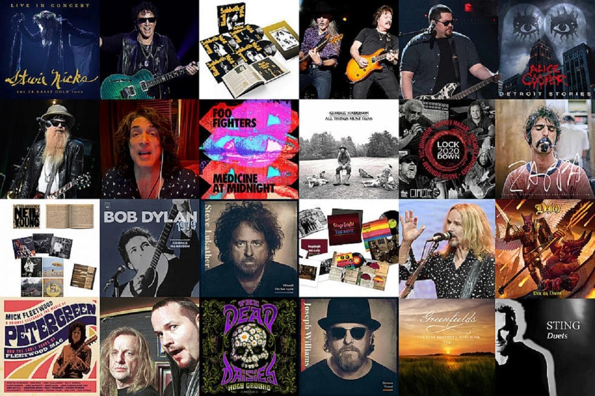 Les 30 albums de Rock les plus attendus en 2021