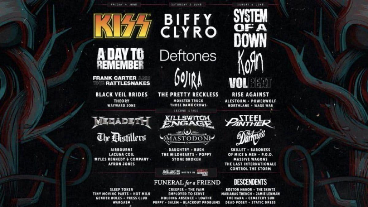 """L'équipe du Download (britannique) """"continue à travailler"""" sur le festival de cet été malgré l'annulation du Glastonbury"""