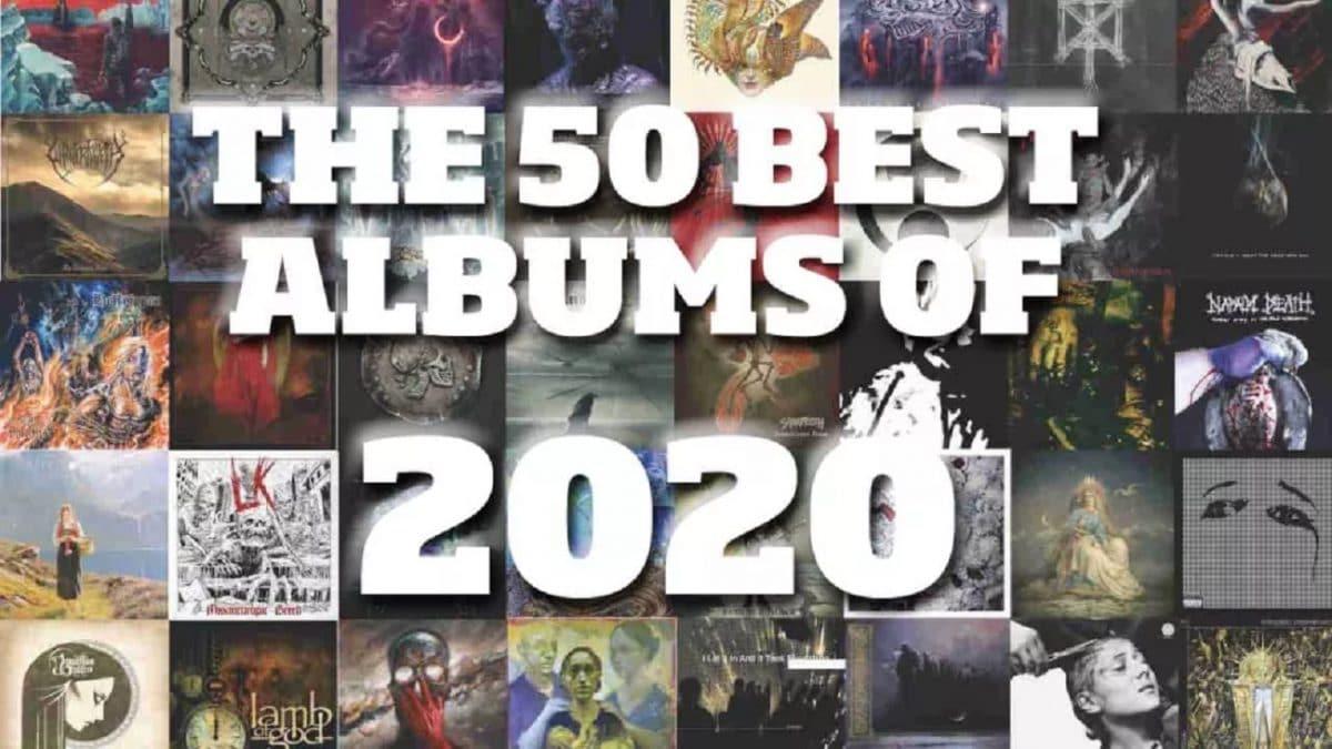 Les 50 meilleurs albums de Metal de l'année 2020