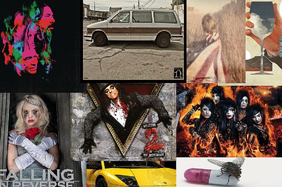 Les 25 meilleurs albums Hard Rock de 2011