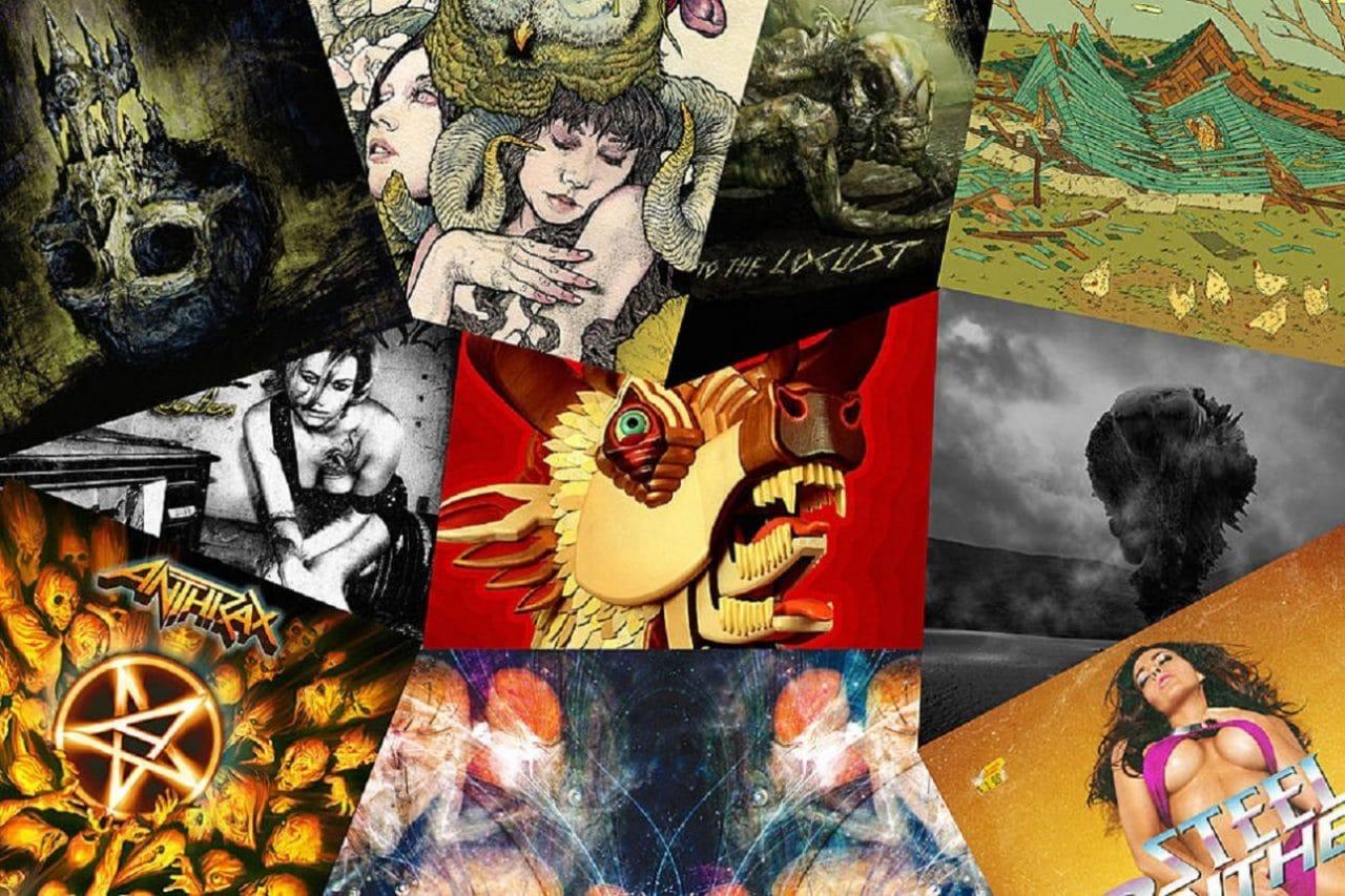 Les 25 meilleurs albums Metal de 2011