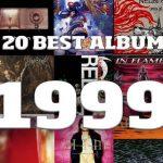 Les 20 meilleurs albums Metal & Rock de 1999