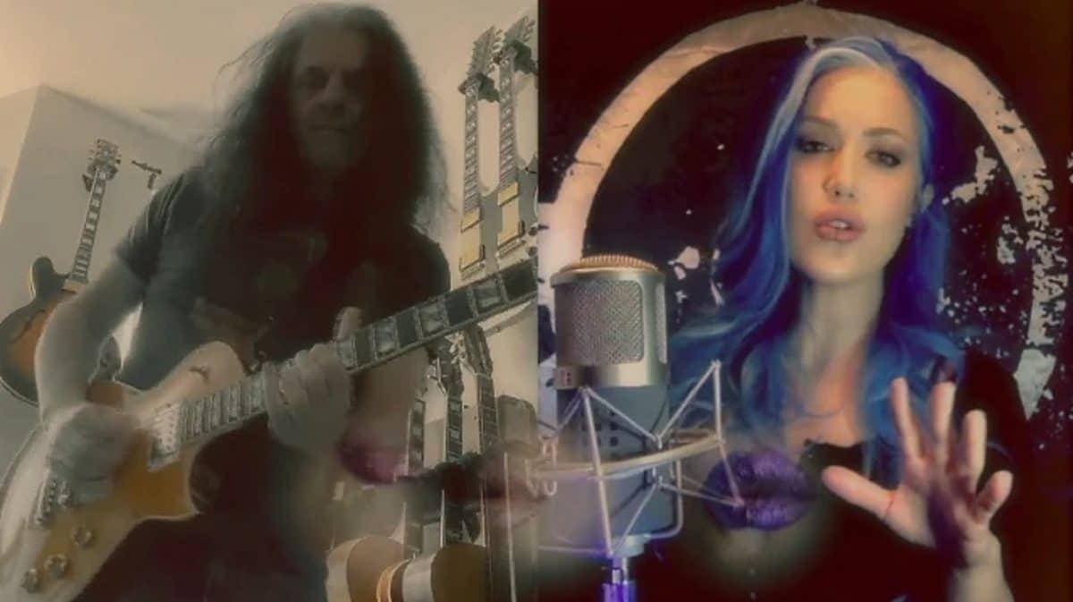 Alex Skolnick de Testament fait équipe avec Alissa White-Gluz de Arch Enemy pour une reprise de We Are The Champions de Queen