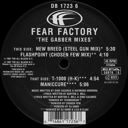 The Gabber Mixes (EP)