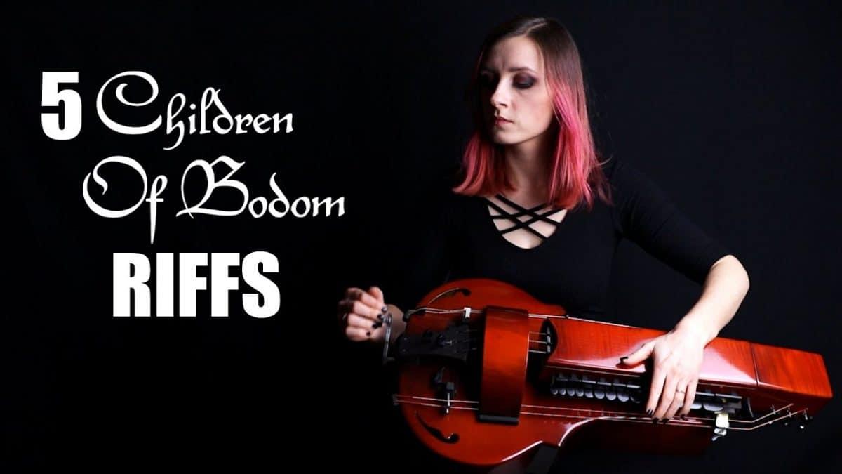 Regardez la joueuse de vielle à roue de Eluveitie interpréter 5 riffs iconiques de Children Of Bodom
