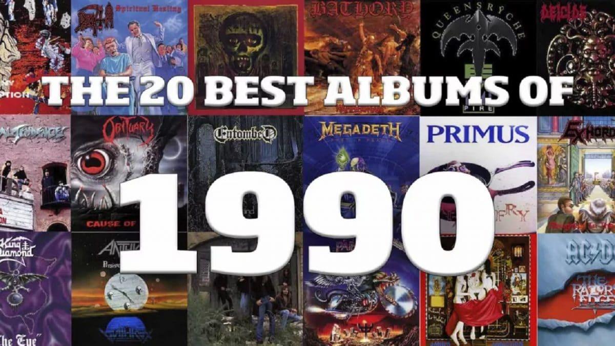 Les 20 meilleurs albums Metal de 1990