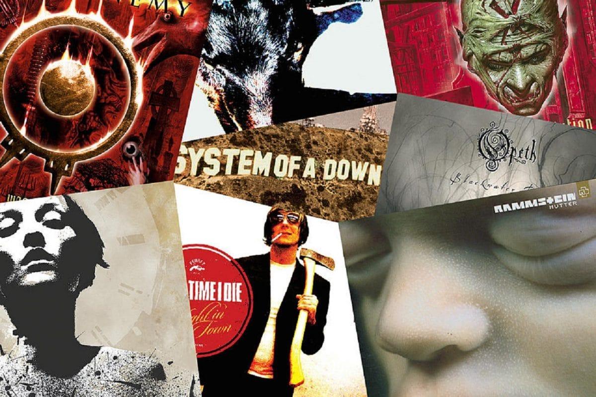 Les 25 meilleurs albums de Metal de l'année 2001
