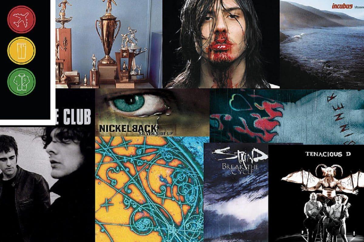 Les 40 meilleurs albums de Rock de l'année 2001