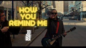 Jordan Radvansky, le chanteur de Seraphim, publie une reprise de How You Remind Me de Nickelback