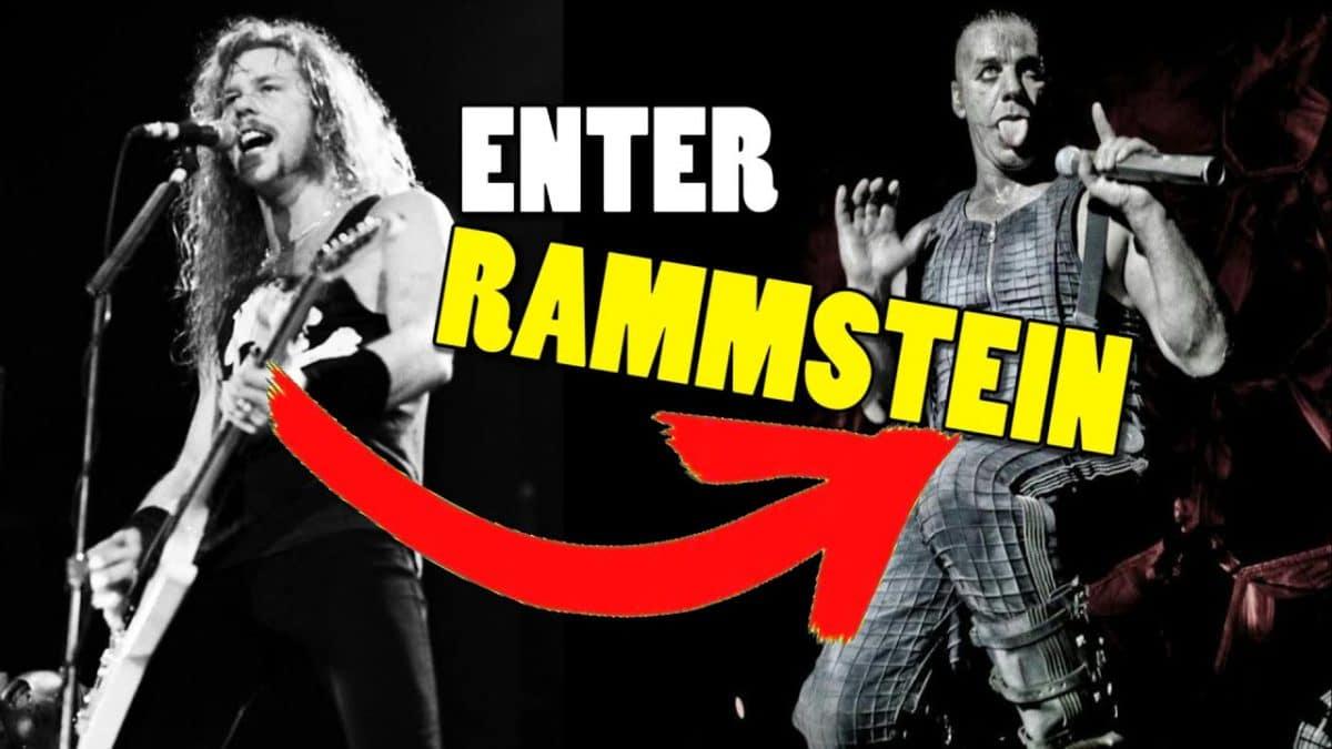Écoutez Enter Sandman de Metallica repris dans le style de Rammstein