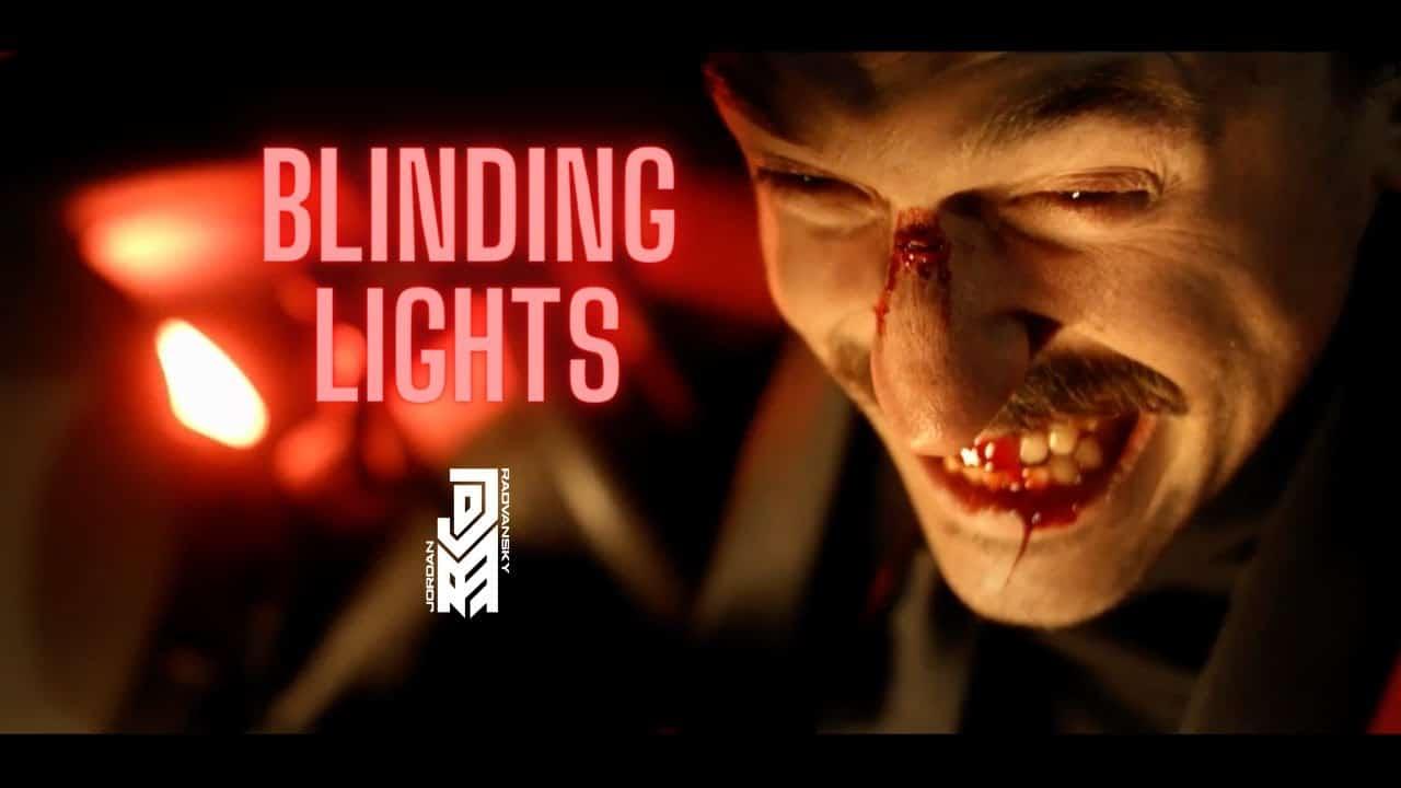 Jordan Radvansky, le chanteur de Seraphim, publie une reprise de Blinding Lights de The Weeknd