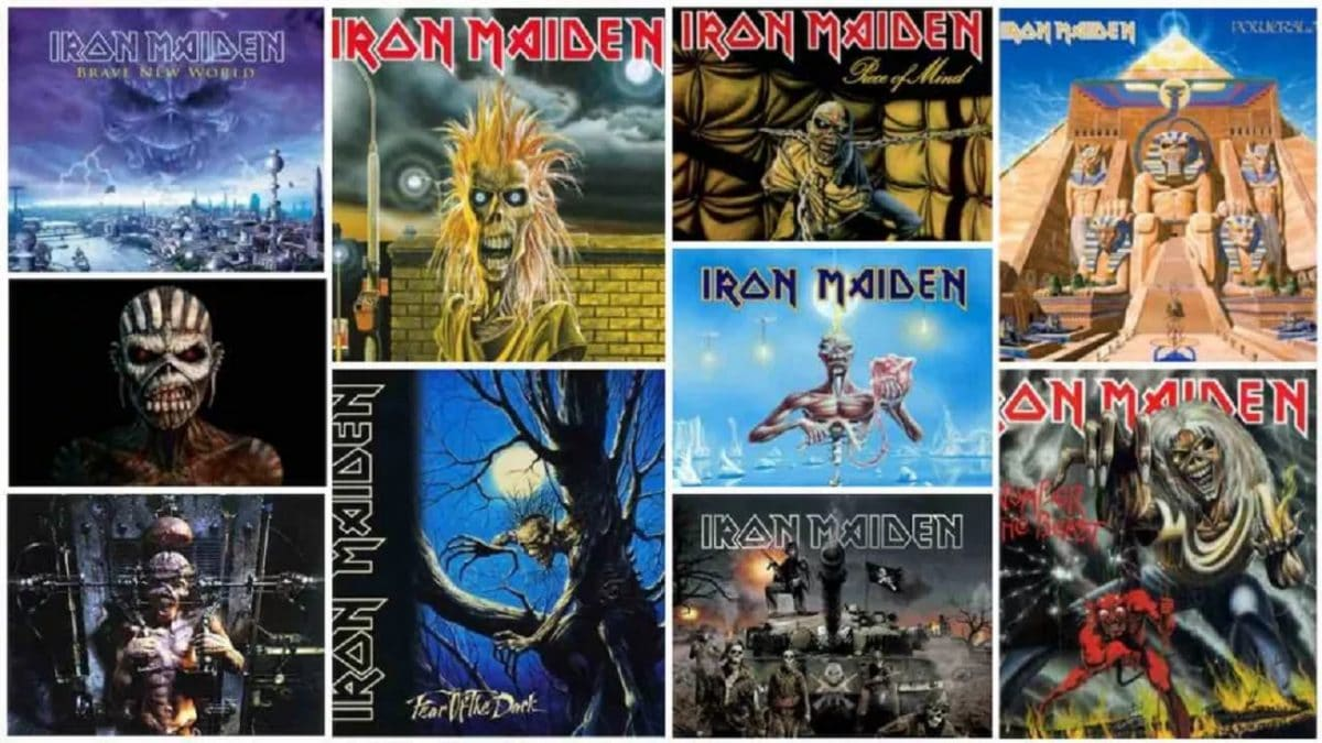 Iron Maiden : Tous les albums du groupe de Metal classés du pire au meilleur