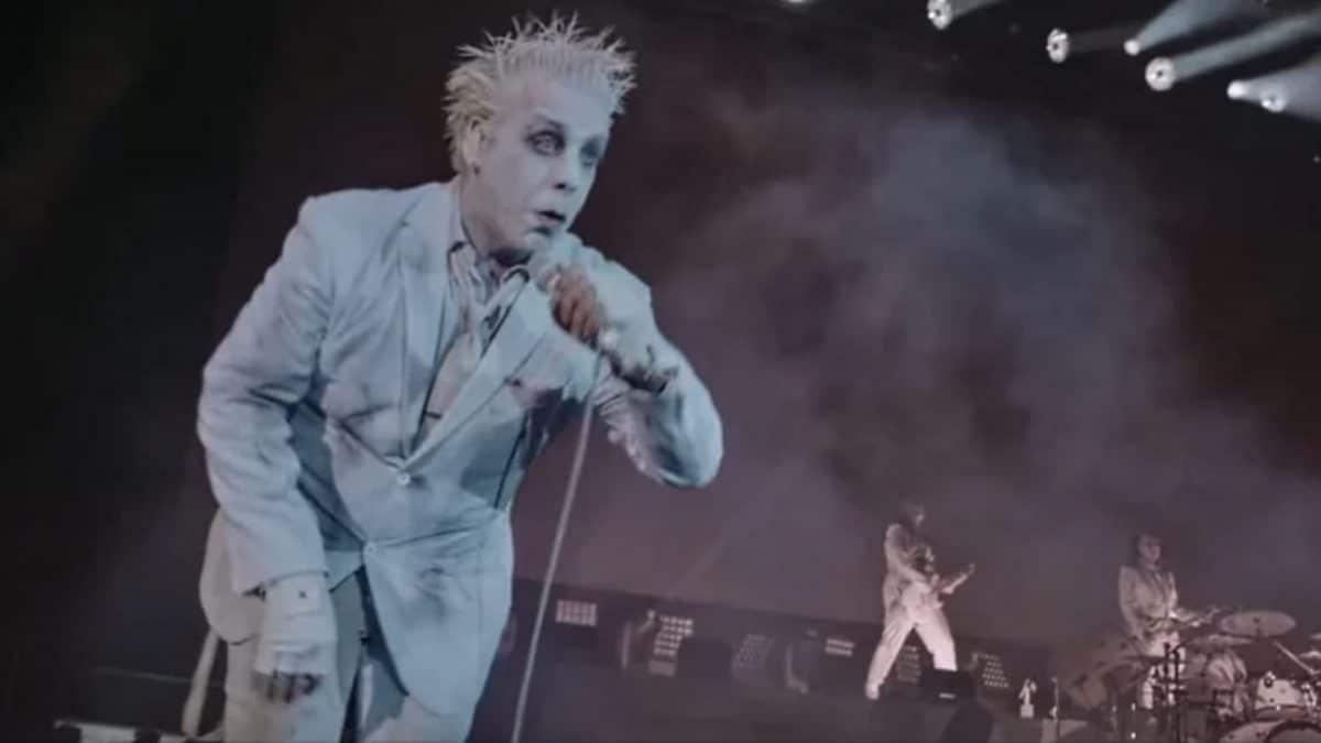 Lindemann (avec Till Lindemann de Rammstein) va sortir un Blu-ray pour son concert à Moscou