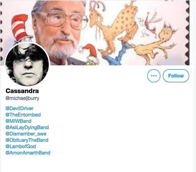 Un investisseur légendaire quitte Twitter et répertorie 8 groupes de Metal dans sa bio