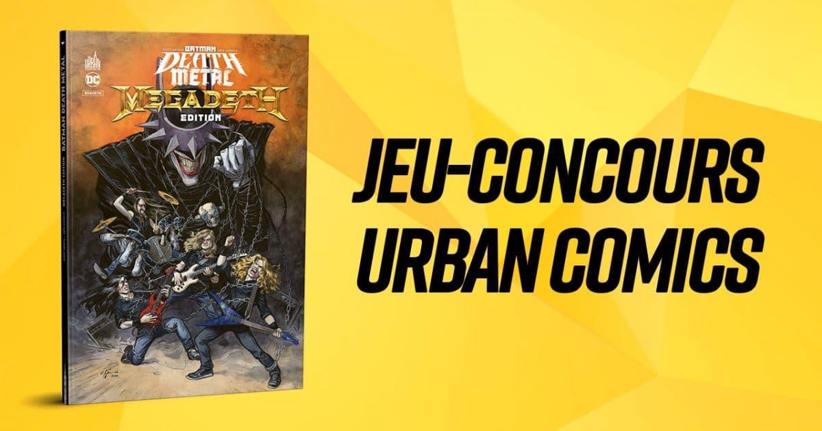 Tentez de gagner un exemplaire de Batman Death Metal #1 Megadeth Edition