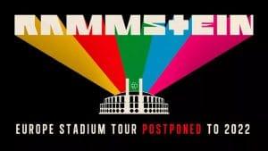 La tournée européenne de Rammstein est reportée à 2022
