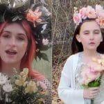 Une petite fille et son père reconstituent l'un des clips vidéo de Metal les plus marquants de 2020