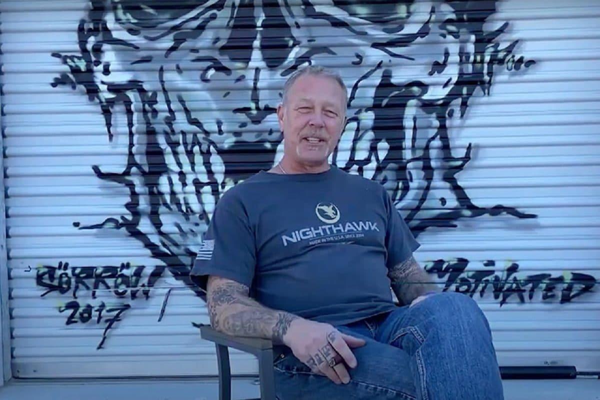 """James Hetfield de Metallica : """"Je suis la preuve que la musique a sauvé des vies"""""""