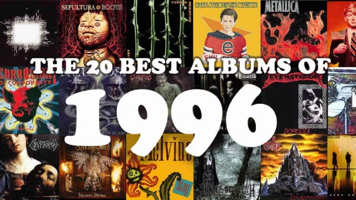 Les 20 meilleurs albums Metal de 1996