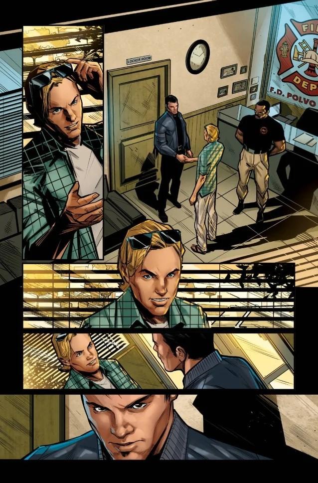 Disturbed s'associe à Incendium et Heavy Metal Entertainment pour une série de bandes dessinées