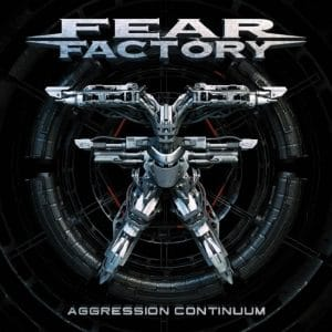 Fear Factory dévoile la pochette de Aggression Continuum, et tease le clip vidéo de Disruptor