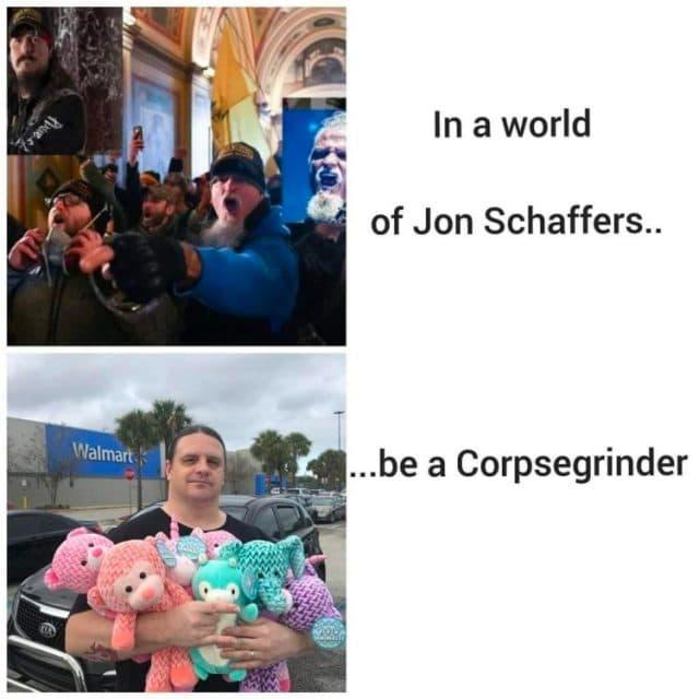 """Corpsegrinder de Cannibal Corpse réagit au sujet de Jon Schaffer : """"Wow, mec, à quoi tu pensais ?"""""""