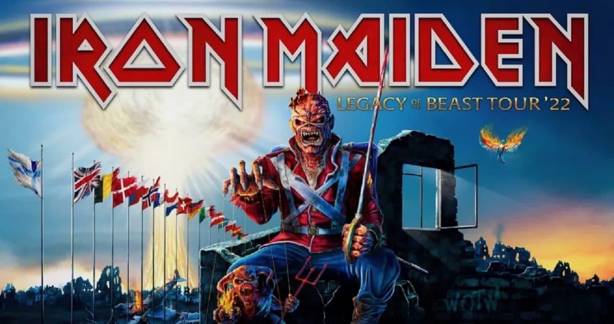 Iron Maiden repousse sa tournée de l'été 2021 à l'été 2022