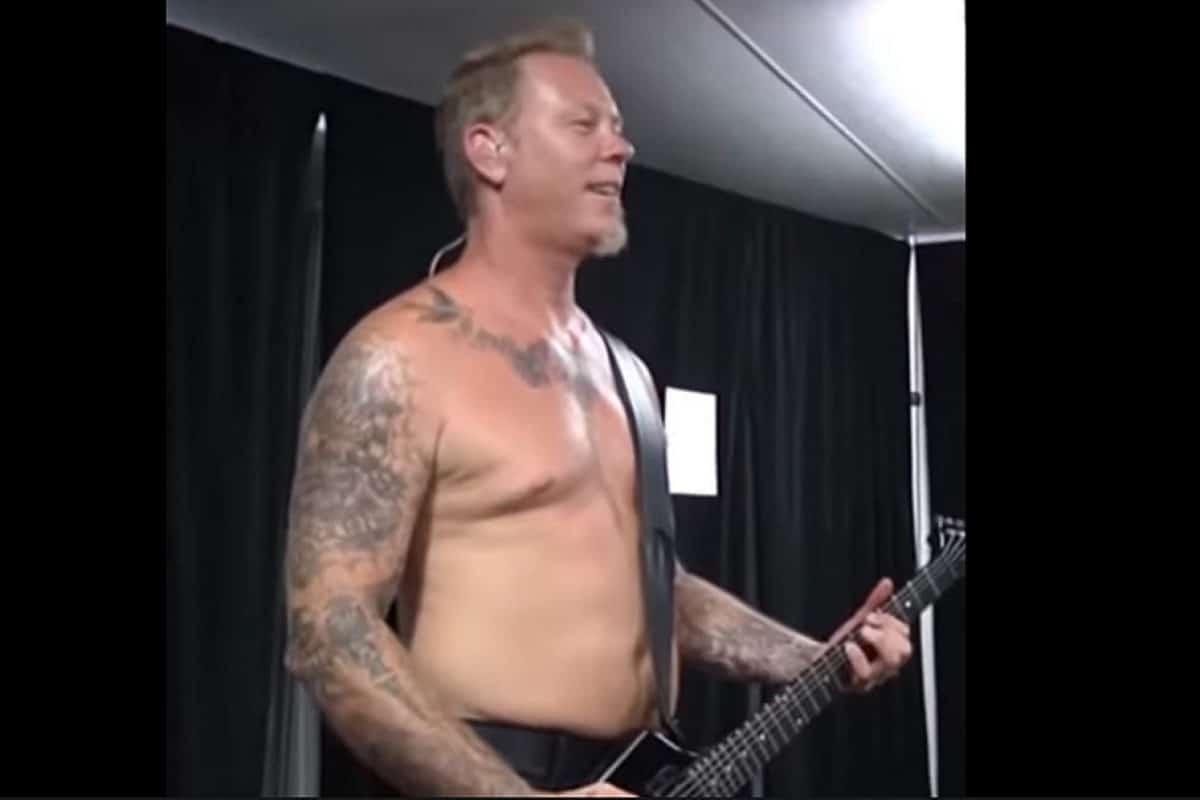 Regardez Metallica tenter de jouer Enter Sandman à l'envers !