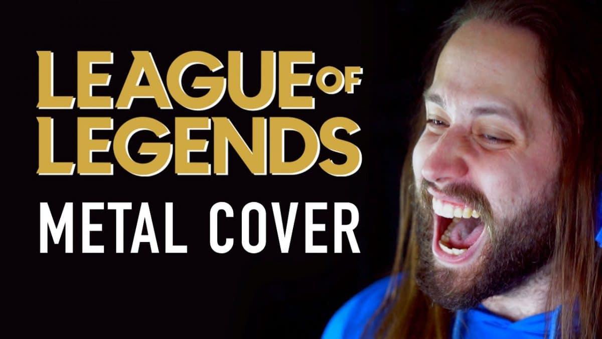 Le chanteur de Seraphim et Jonathan Young publient une reprise Metal d'une chanson de League Of Legends