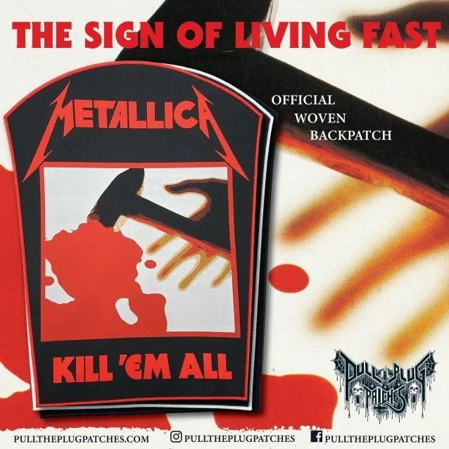 Metallica : Des patchs, des backpatches et des pins seront disponibles le mois prochain !