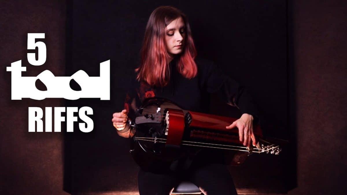 Regardez la joueuse de vielle à roue de Eluveitie interpréter 5 riffs iconiques de Tool