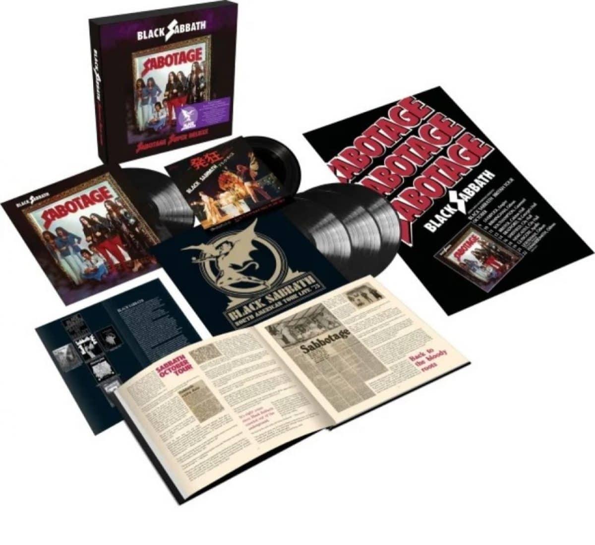 Black Sabbath annonce la sortie d'une édition Super Deluxe de Sabotage en juin prochain !
