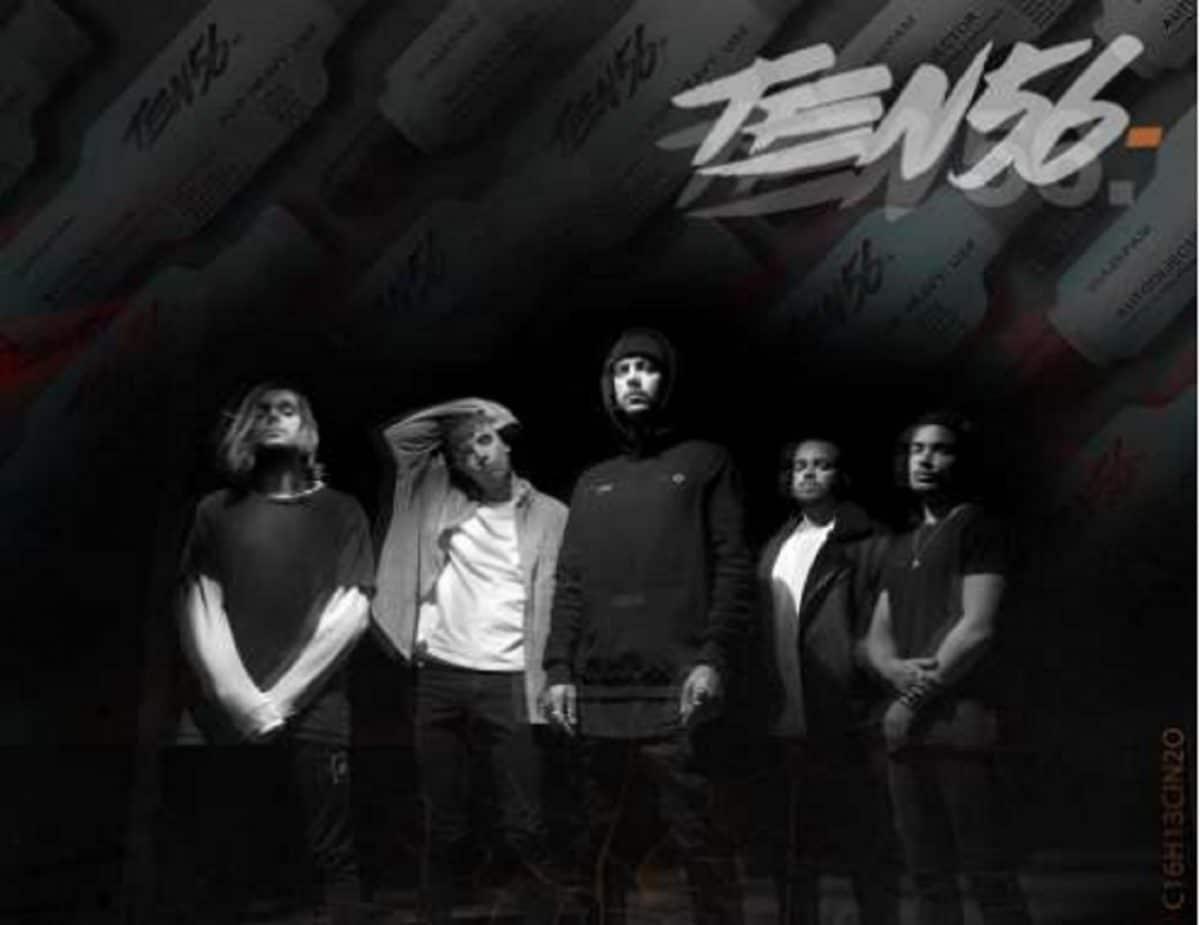 Aaron Matts quitte Betraying The Martyrs et forme un nouveau groupe, Ten56