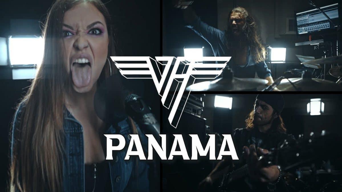 Regardez Vicky Psarakis de The Agonist reprendre Panama de Van Halen !