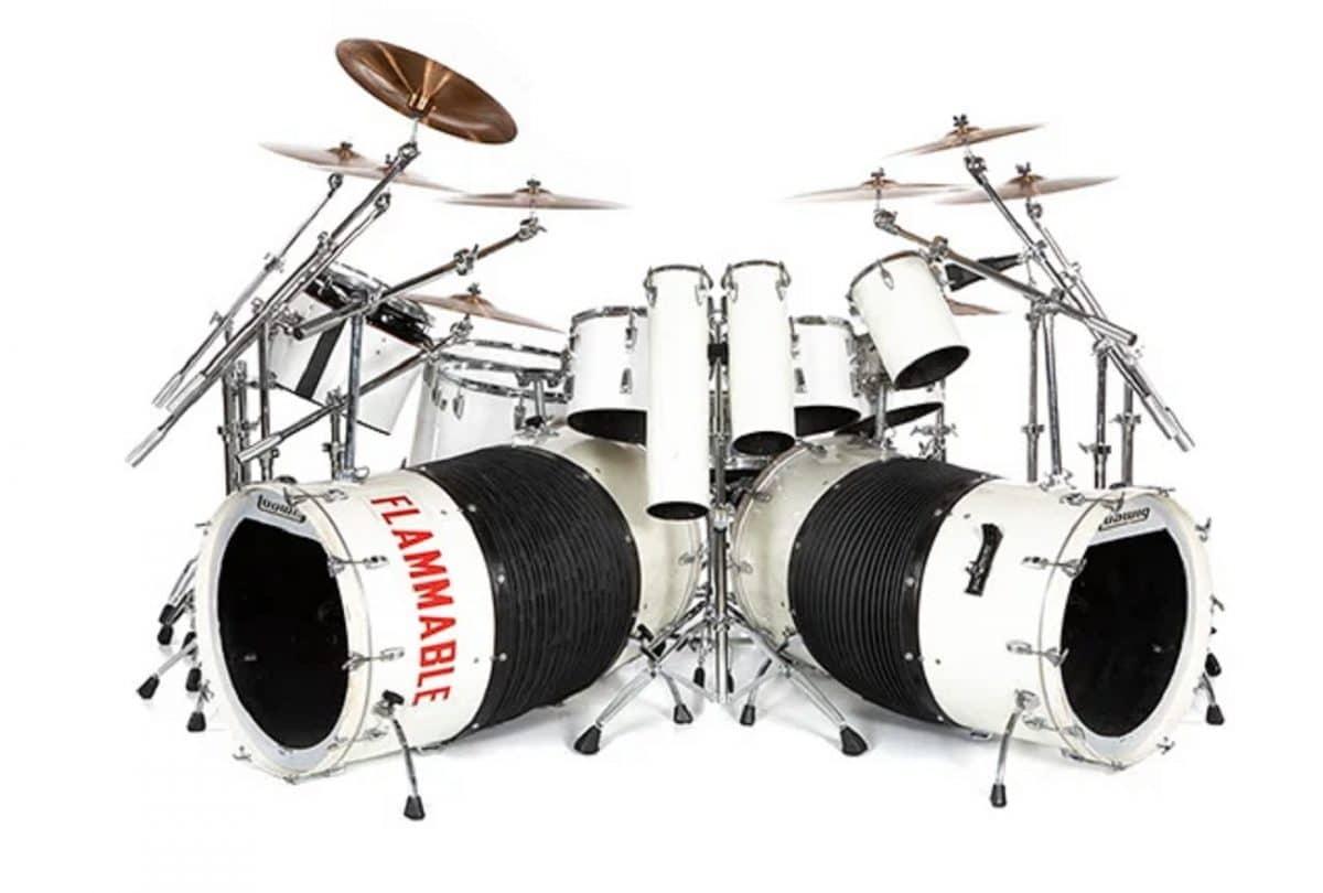 La batterie d'Alex Van Halen de 1980, jouée sur scène, devrait atteindre 200 000 à 300 000 $ aux enchères