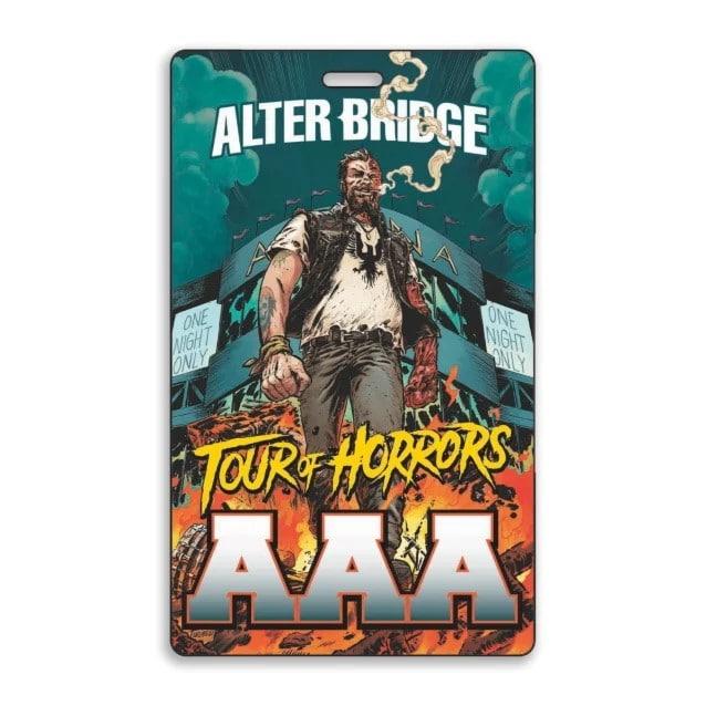 Alter Bridge et Z2 Comics annoncent un roman graphique d'horreur : Alter Bridge - Tour of Horrors !