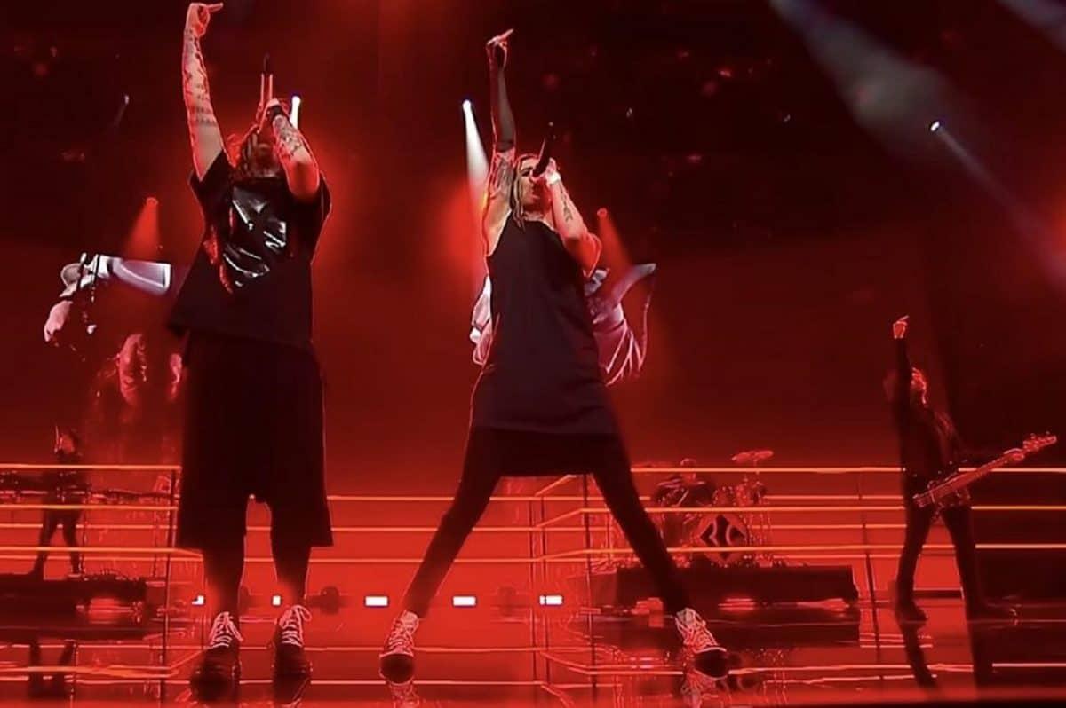 Le groupe de Metal finlandais Blind Channel s'est emparé du cœur des fans de l'Eurovision