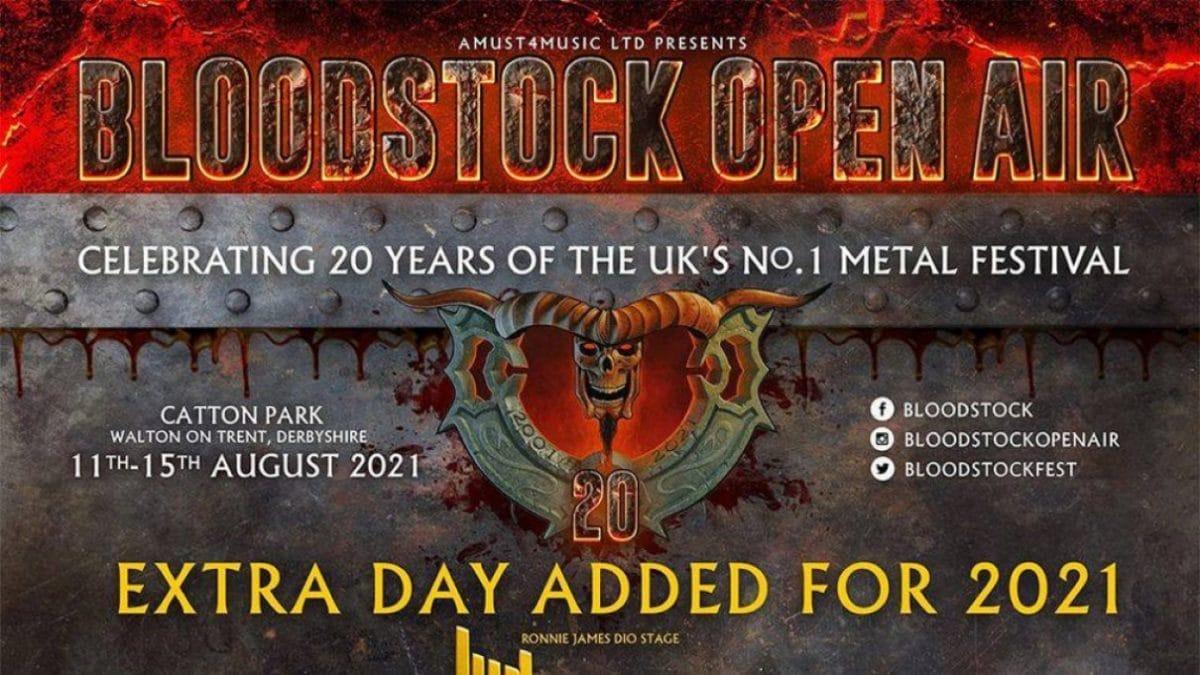 Le Bloodstock Open Air annonce 19 groupes supplémentaires pour l'édition de 2021 !